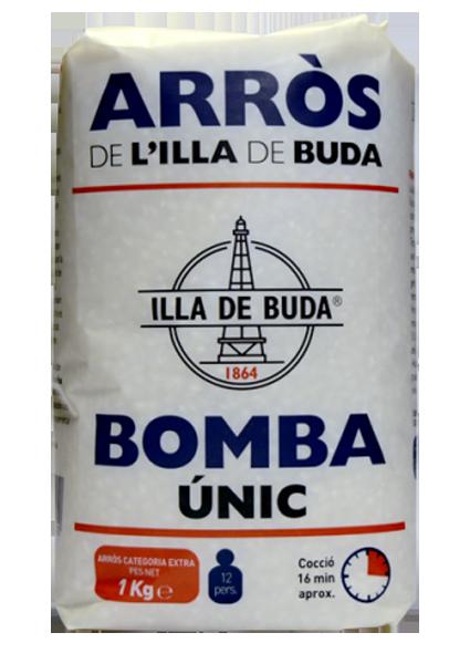 Arros Illa De Buda Bomba Extra Unic 1 Kg