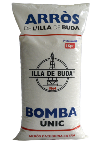 Arros Illa De Buda Bomba Unic Paquet 5 Kg